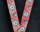 Alabama Inspired Lanyard with Lobster Clasp and Safety Breakaway FREE SHIPPING!