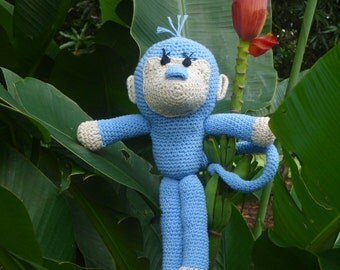 Monkey Crochet Pattern Amigurumi PDF - Monkies amigurumi Toy crochet pattern - Instant DOWNLOAD