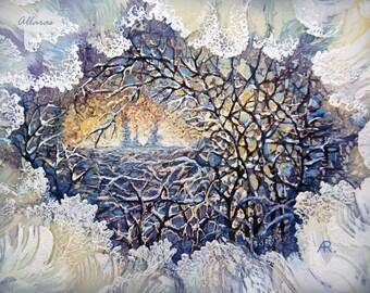 Silk Painting Etsy