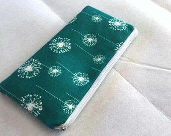 Long zipper Pencil Case-Dandelion