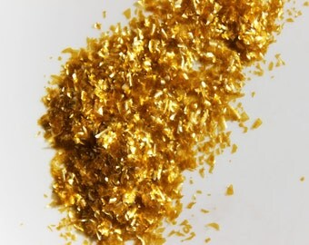 how to make edible metallic glitter