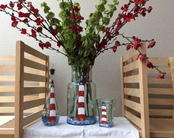 Seas the Day with Nautical  Hand Painted Accent Pieces for your Home