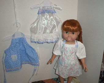 18 Inch Doll Clothes, Fashion Apron, Ready to Ship