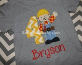 Bob The Builder Boys Shirt