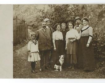 20th Century Dog - Vintage German Postcard