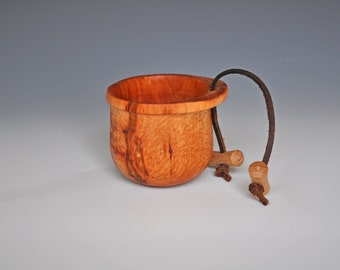 Canoe Cup in North American Style/kuksa