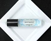 Mermaid Perfume Oil, Roll on Perfume, Lavender and Sea Salt Perfume, Vegan Perfume