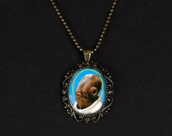 Admiral Ackbar Pendant Necklace