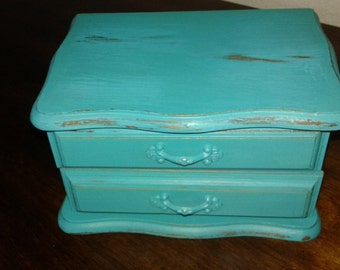 Jewelry Box/French Cottage//Shabby Chic/Cottage Chic/Wedding/Flower Girl