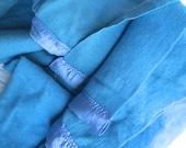 Blue Wool Blanket Twin Fieldcrest Virgin Wool
