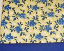 Sale Pillowcase Kit, Blue, Flowers