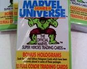 Marvel Universe Trading Cards Series 2- INCREDIBLE HULK