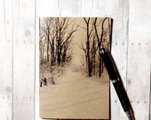Notebook, journal, diary, sketchbook: Winter Tranquility