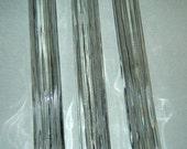 "3 Old Vintage Clear Glass Tear Drop Lamp Chandelier Long Prism 8"" length"
