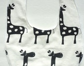 Giraffe Baby Bib, Gender Neutral Bib