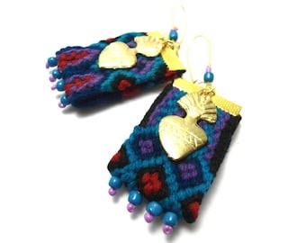 milagro friendship earrings, ethnic earrings, boho earrings