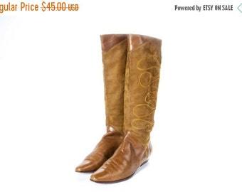 30% OFF 1980's Style CHANTEL Boots Size 10