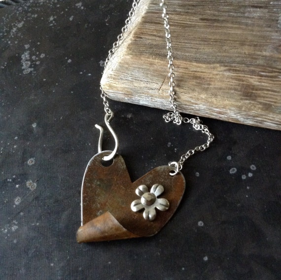 Rustic Love Necklace
