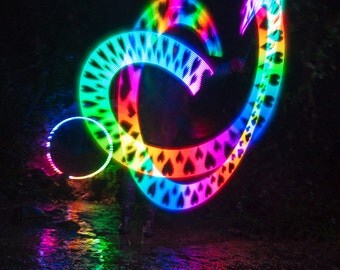 FuturePoi Lite - LED Smart Poi, by Moodhoops