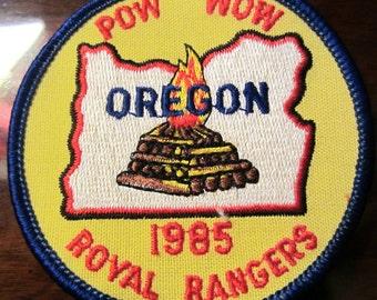 Royal Rangers RR Oregon Pow Wow 1985