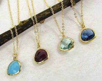 Blue Hues Friendship Necklace