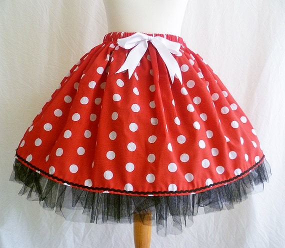 MInnie Mouse Adult Halloween Costume By Rooby Lane