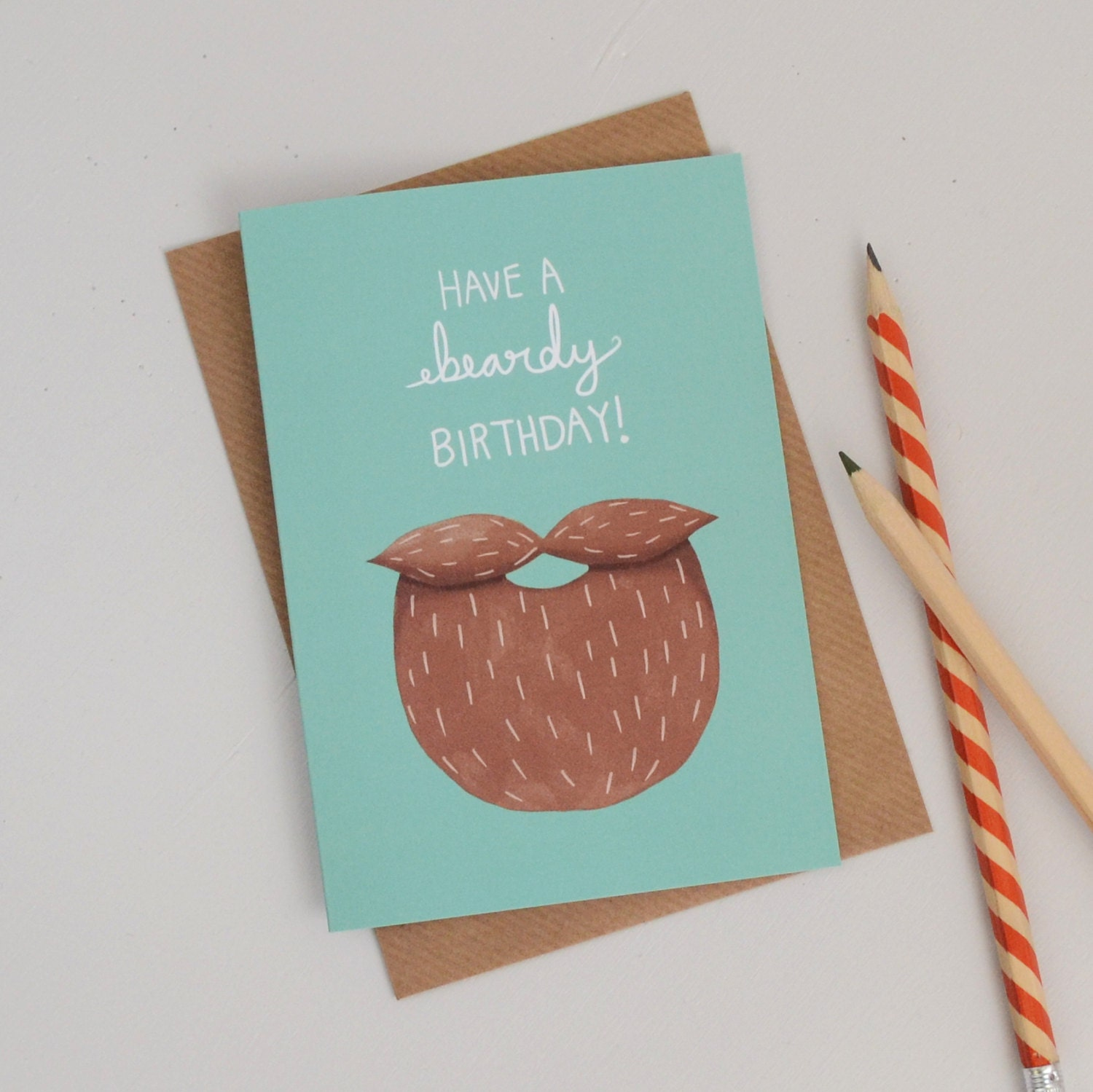 Sale Beard Birthday Card Mens Hipster Birthday Card Gifts For Men