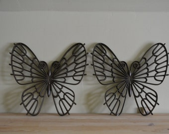 Burwood Bown Butterfly Set Wall Art