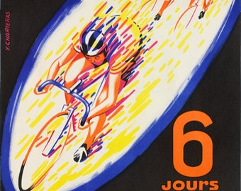 SUZE 6-Day Bicycle Race Poster (#1435) 6 sizes