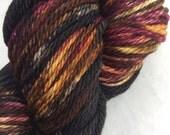 New lines - ColorPlay & Yarn Pairings, Hand-dyed Hand-Painted, Brown, Black, Burgundy, 100% SW Merino, 212 total yards, Bulky