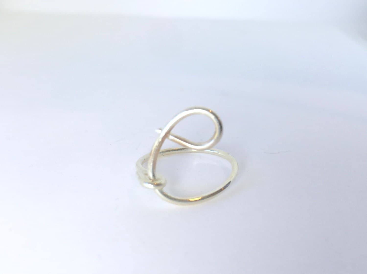 letter c ring sterling silver size 6 lilyb444 etsy With letter c ring
