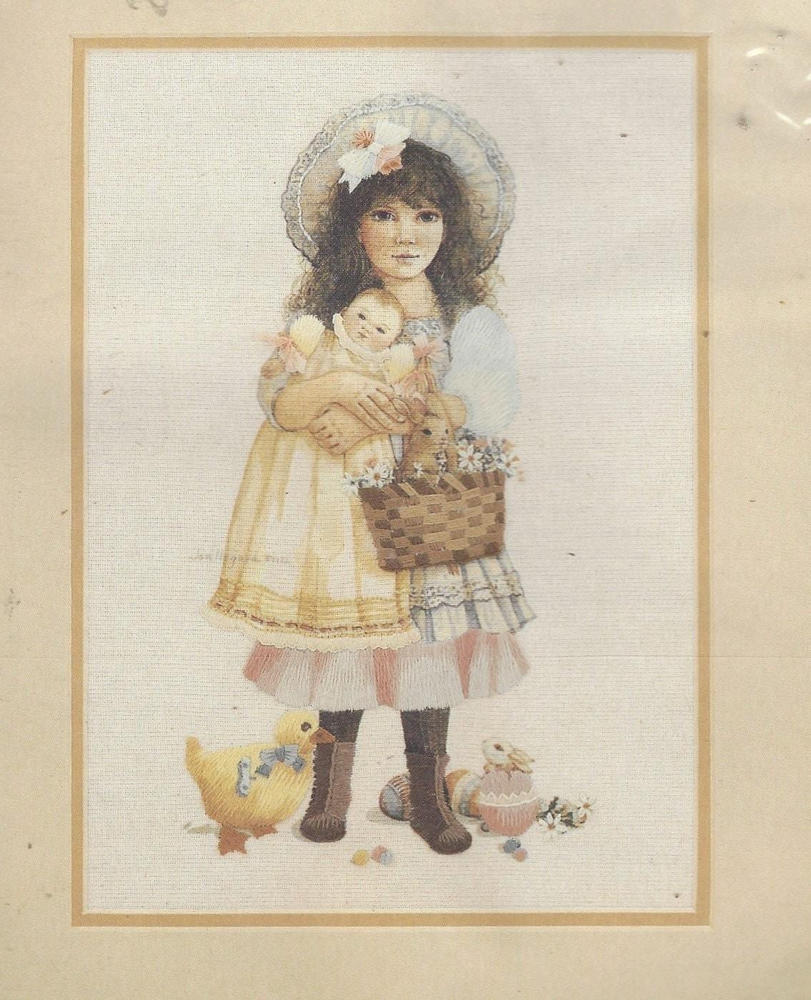 Jan Hagara Lithograph: Jan Hagara Victoria Needle Treasures Stitchery Kit