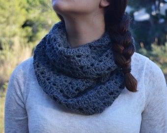 30% OFF Crochet Infinity scarf.  Crochet Scarf. Women's scarf. Handmade Women's accessories