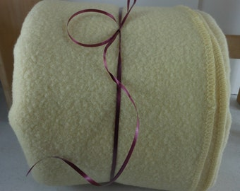 KENWOOD Blanket Cream Wool Ramcrest