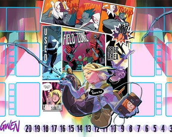 Spider Gwen Dice Masters Play Mat