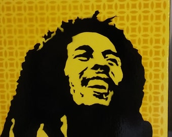 Bob Marley (yellow design)