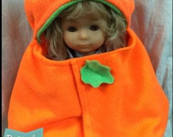 Pumpkin Baby Capelet Costume