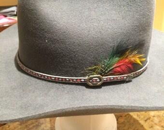 Vintage Felt Cowboy Hat - Smithbilt cowboy hat