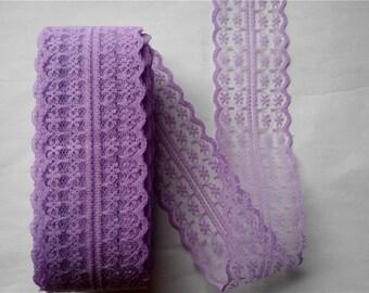 """Lavender Lace-40mm-1.57""""-3 YDS"""