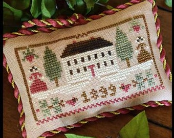 Christmas in the Country Sampler Tree : Little House Needleworks cross stitch patterns holidays hand embroidery