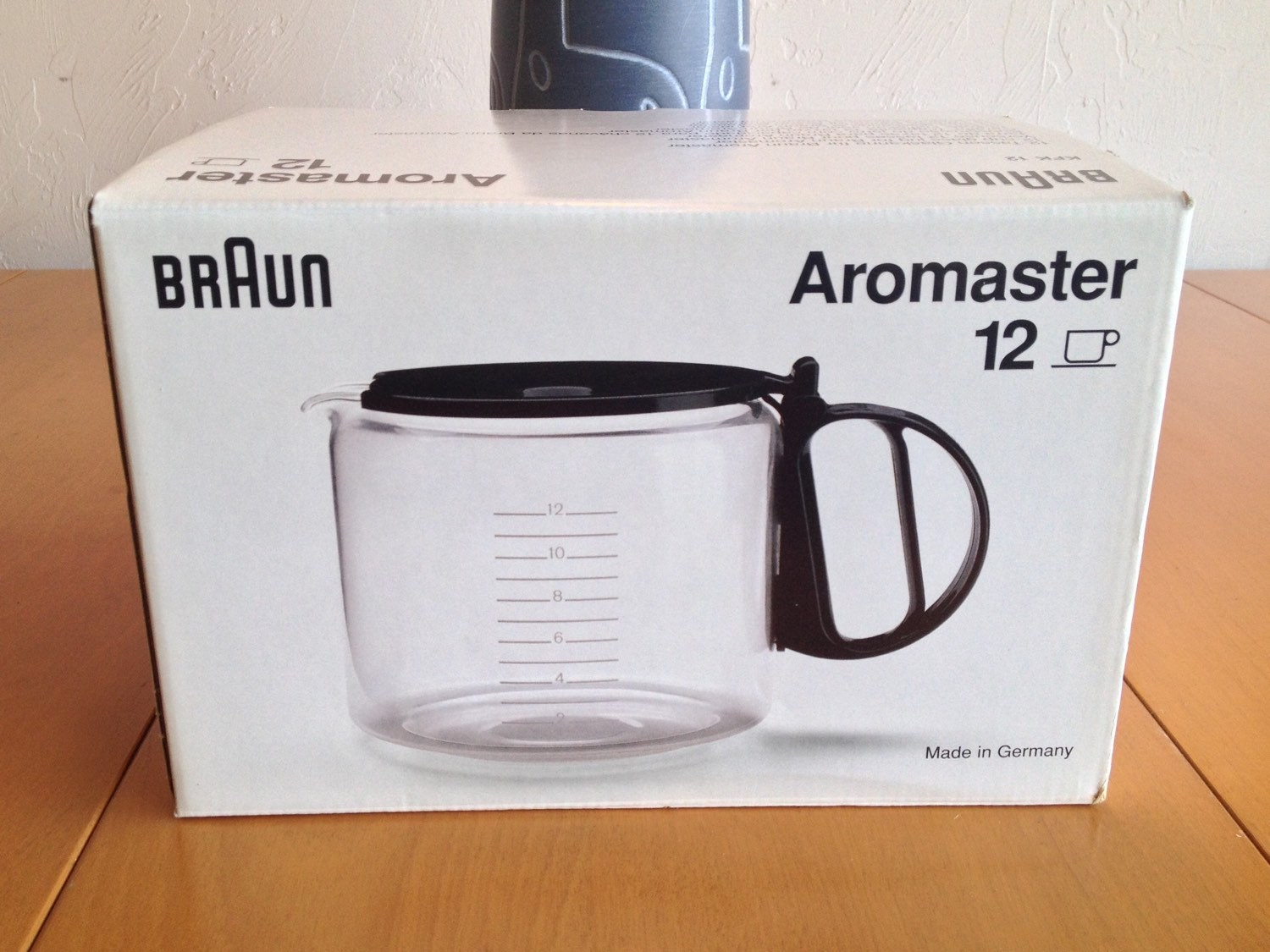 Braun Coffee Maker Pot Replacement : Braun Aromaster KFK 12 Replacement Coffee Pot New In Box