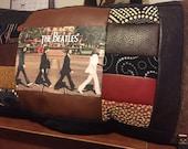 Beatles Pillow - Beatles Memorabilia - Abby Road - Patchwork Pillow