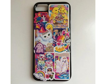 Black 90s Lisa Frank Inspired iPhone 5/5s Cell Phone Case