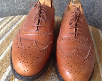 Vintage Bench Made in England Grenson leather brogue shoes 8.5