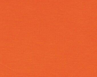 Orange Modal Jersey Fabric 60in wide, 3yrds