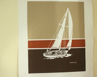 Vintage Traverse City Marushka Print