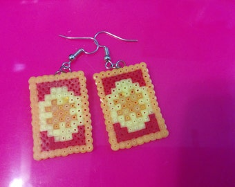 Card Captor Sakura Fanmade Clow Card Earrings