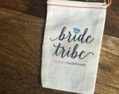 4x6 Mini Muslin Bags for Bachelorette Kits - Bride Tribe