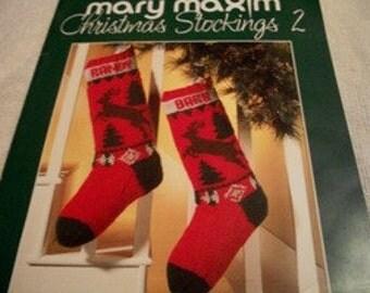 Knitting: Christmas Stockings 2