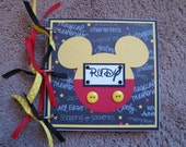 Disney Autograph Photo Book - Mickey Mouse